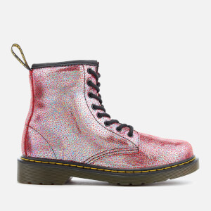 Dr. Martens Kids' Delaney TP Split Lace Low Boots - Pink