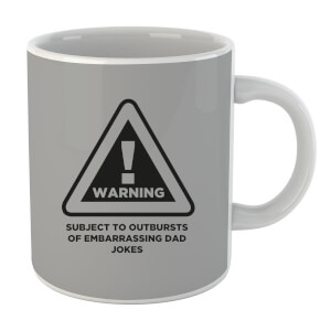 Warning Dad Jokes Mug