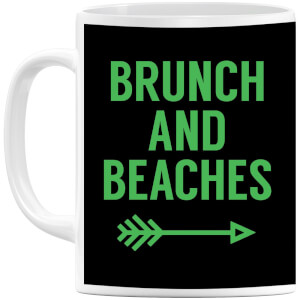 Brunch and Beaches Mug