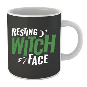 Resting Witch Face Mug