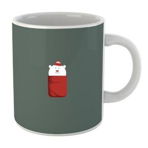 Christmas Polar Bear Pocket Mug