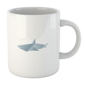 Origami Shark Mug