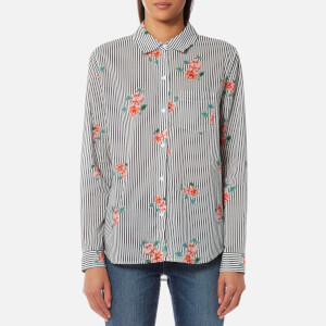 Rails Women's Taylor Shirt with Flowers - Florence Stripe