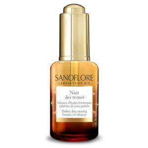 Sanoflore Nuit Des Reines Skin-Perfecting Botanical Night Oil olejek do twarzy na noc 30 ml