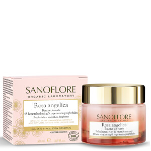 Sanoflore Rosa Angelica Baume De Rosée Regenerating Night Balm 50ml