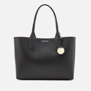 Emporio Armani Women's Shopping Bag - Black/Red