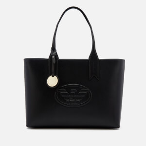 Emporio Armani Women's Freda Logo Eagle Tote Bag - Black