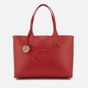 Emporio Armani Women's Shopping Bag - Red
