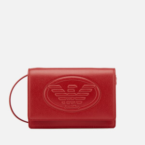 Emporio Armani Women's Sling Bag - Red