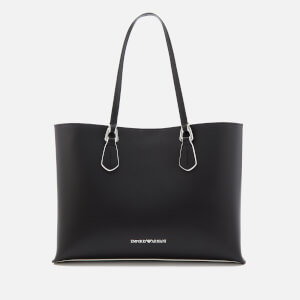 Emporio Armani Women's Shopping Tote Bag - Black