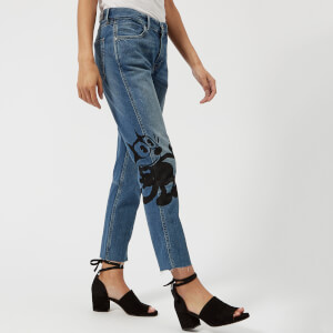 Maison Scotch Women's Felix the Cat Jeans - Bandit