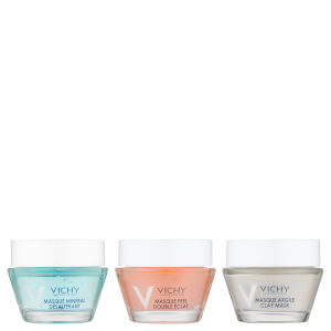Vichy Pureté Thermal Mini Mineral Mask Kit 3 x 15ml