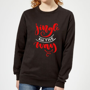 Jingle all the Way Frauen Sweatshirt - Schwarz