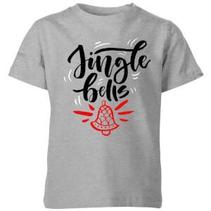 jingle Bells Kids' T-Shirt - Grey