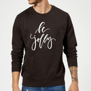 Be Jolly Sweatshirt - Schwarz