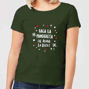 Saca La Pandereta Women's T-Shirt - Forest Green