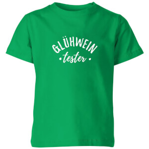 Gluhwein Tester Kids' T-Shirt - Kelly Green