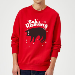 Bah Humbug Sweatshirt - Red