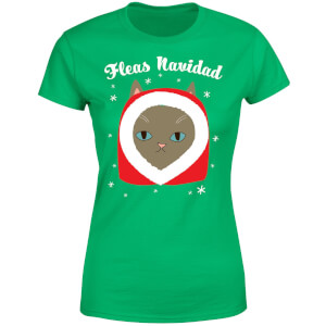 Fleas Navidad Women's T-Shirt - Kelly Green
