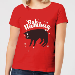 Bah Humbug Women's T-Shirt - Red