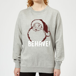 Behave! Frauen Sweatshirt - Grau