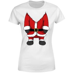 Santa Women's T-Shirt - White
