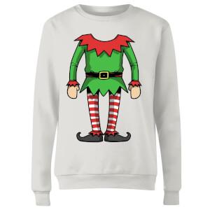 Elf Women's Sweatshirt - White