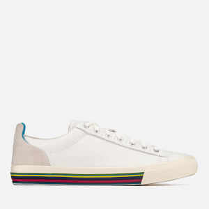 PS by Paul Smith Men's Hooper Leather Cupsole Trainers - White