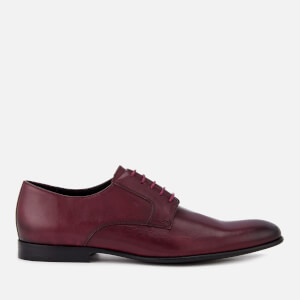 PS by Paul Smith Men's Gould Burnished Leather Oxford Shoes - Burgundy