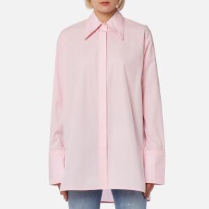 Helmut Lang Women's Cutout Shirt - Hortensia