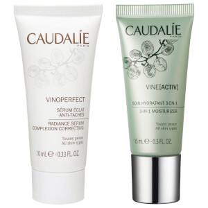 Caudalie Vinoperfect Serum and Caudalie Vineactiv Cream (Free Gift)