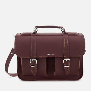 Grafea Women's Morgan Satchel - Burgundy
