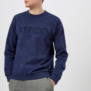KENZO Men's Logo Nylon Sweatshirt - Ink