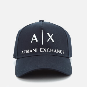 Armani Exchange Men's Corp Logo Cap - Navy
