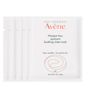Avene Soothing Sheet Mask (Pack of 5) - US