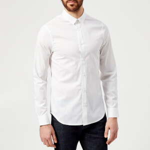 Armani Exchange Men's Long Sleeve Shirt - White