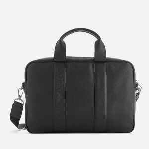Emporio Armani Men's Briefcase - Black