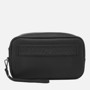 Emporio Armani Men's Wash Bag - Black