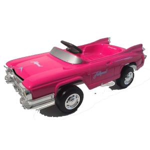 Toys Toys Hollywood Fuxia Pedal Power Car - Red