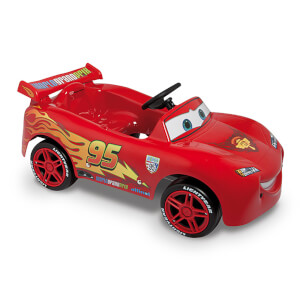 Disney Saetta McQueen Pedal Power Car - Red