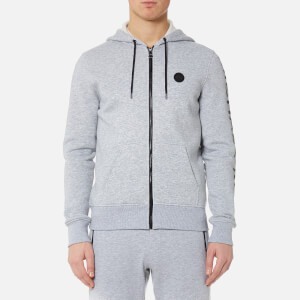Michael Kors Men's Fleece Logo Hoody - Heather Grey