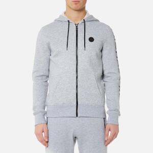 Michael Kors Men's Fleece Logo Hoody - Heather Grey