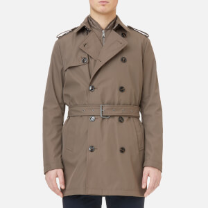 Michael Kors Men's Tech Nylon 3-in-1 Trench Coat - Taupe