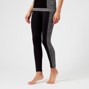 M-Life Women's Mountain Seamless Leggings - Black/Black Marl