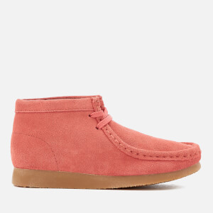 Clarks Originals Kids' Wallabee Boots - Coral Suede