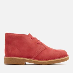 Clarks Originals Kids' Desert Boots - Coral Suede