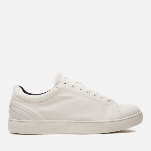 Emporio Armani Men's Trainers - Optic White