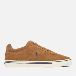 Polo Ralph Lauren Men's Hanford Suede Trainers - New Snuff: Image 1