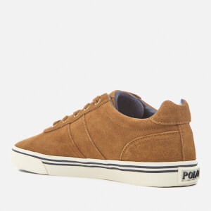 Polo Ralph Lauren Men's Hanford Suede Trainers - New Snuff: Image 4