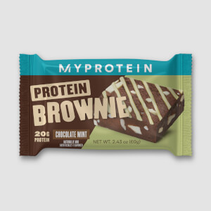 Protein Brownie Sample